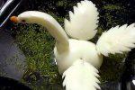 Из яйца сделать лебедя из – Как сделать из яйца лебедя