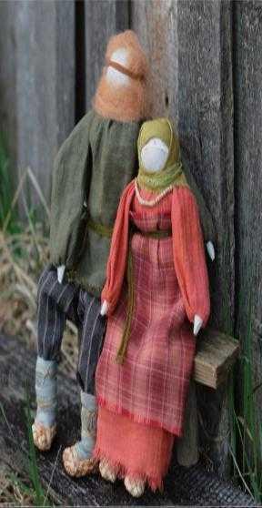 Занятие кружка Народные промыслы на тему Крестьянская кукла-скрутка 17