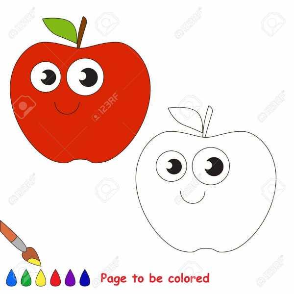 Картинки яблони с яблоками для детей – Ой!