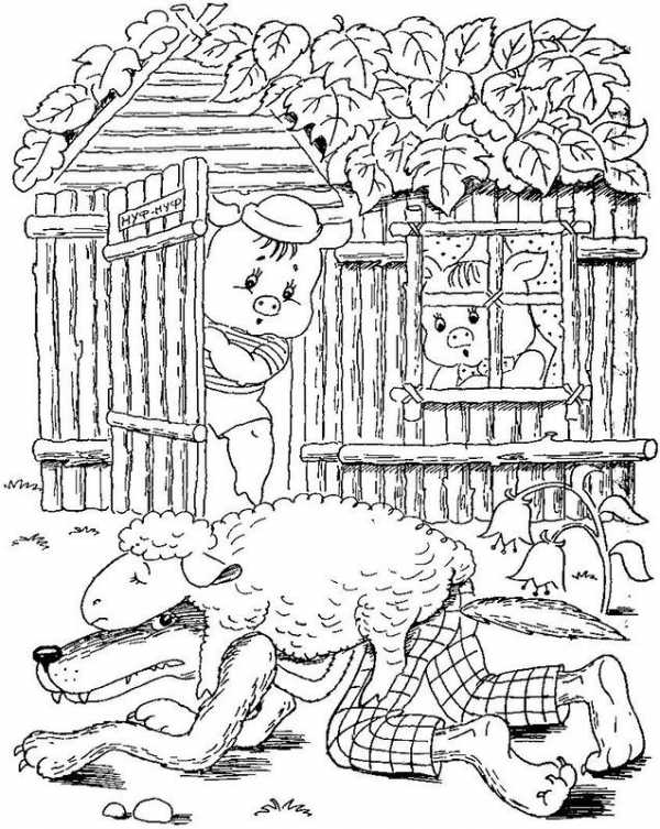 Распечатать волка раскраска – Раскраска Волк