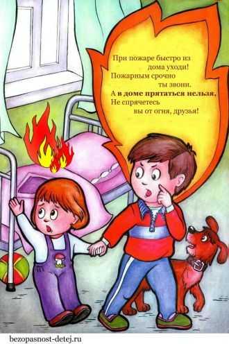 рисунок на тему пожар в доме как нарисовать пожар