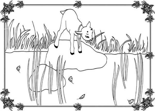 Как нарисовать сказку Сестрица Алёнушка и братец Иванушка?