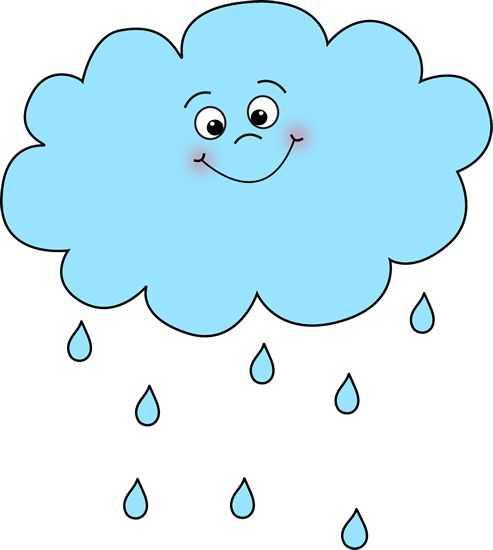 Тучка с дождиком картинка – Картинки дождика для детей (36 ...