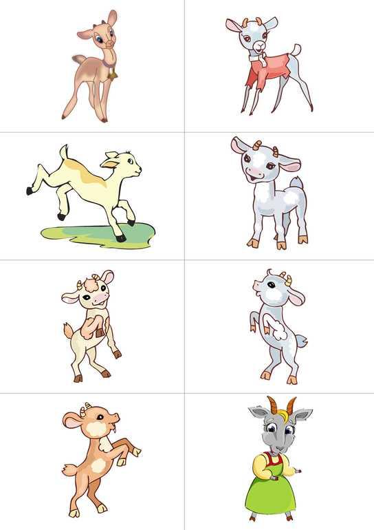 Волк и семеро козлят картинка для детей – Ой!